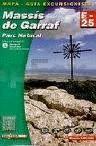 MASSIS DE GARRAF, MAPA I GUIA EXCURSIONISTA