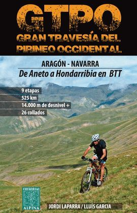 GTPO - GRAN TRAVESÍA DEL PIRINEO OCCIDENTAL, GUIA + LIBRO DE RUTA