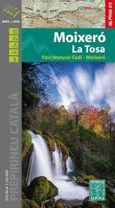 MOIXERÓ - LA TOSSA, MAPA I GUIA EXCURSIONISTA