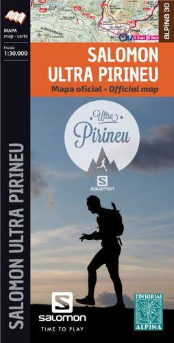 SALOMON ULTRA PIRINEU 2019 - MAPA OFICIAL