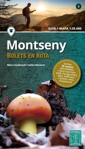 MONTSENY - BOLETS EN RUTA ( GUIA I MAPA )