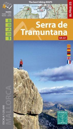 SERRA DE TRAMUNTANA ( GR-221 ) 4 MAPES I GUIA EXCURSIONISTA