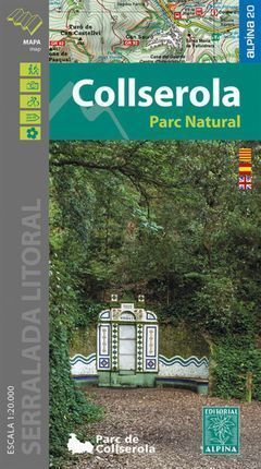 COLLSEROLA. PARC NATURAL (1:20.000 - CARPETA CON 1 MAPA)