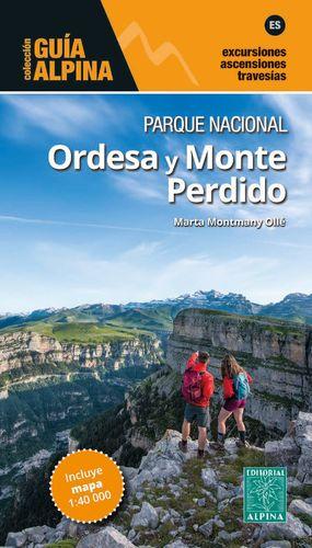 ORDESA Y MONTE PERDIDO, PARQUE NACIONAL - MAPA Y GUÍA EXCURSIONISTA