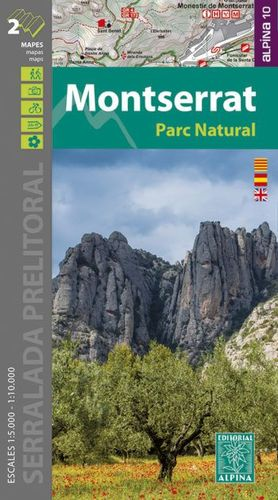 MONTSERRAT - PARC NATURAL  (1:10.000 / 1:5.000)