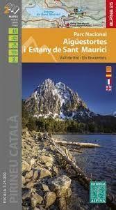 PARC NACIONAL AIGUESTORTES I ESTANY DE SANT MAURICI (1:25.000 -ALPINA)