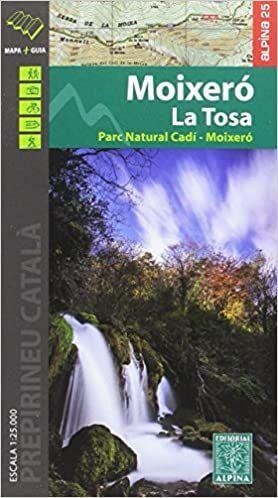 MOIXERÓ - LA TOSA (MAPA 1:25.000 + CARPETA DESPLEGABLE)