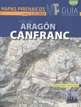 VALL DEL ARAGON. CANFRANC (1:25.000)