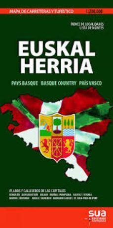 MAPA EUSKAL HERRIA 1:200.000 -SUA