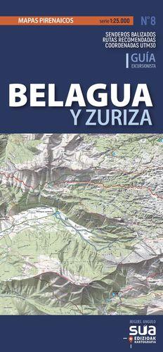 BELAGUA Y ZURIZA 1:25.000