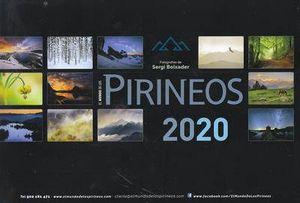 CALENDARIO 2020 EL MUNDO DE LOS PIRINEOS