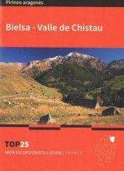 BIELSA-VALLE DE CHISTAU. MAPA TOP 25