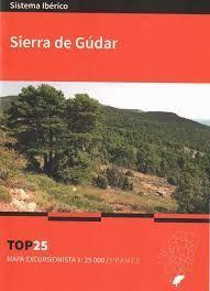 SIERRA DE GÚDAR. MAPA TOP 25