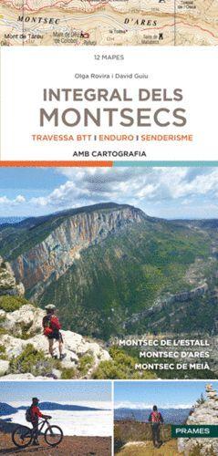INTEGRAL DELS MONTSECS - TRAVESSA BTT, ENDURO, SENDERSIME ( AMB CARTOGRAFIA )