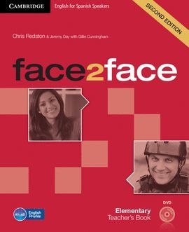 FACE 2 FACE ELEMENTARY TEACHER WITH DVD-ROM