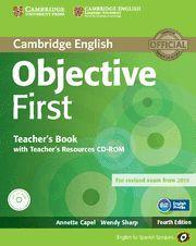 OBJECTIVE FIRST CERTIFICATE **TEACHER'S BOOK**