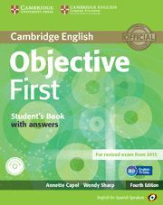 OBJECTIVE FIRST CERTIFICATE STUDENT WITH KEY