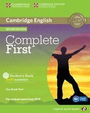 COMPLETE FIRST - STUDENT'S BOOK WITH ANSWERS ( B2 ENGLISH PROFILE )