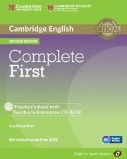 COMPLETE FIRST CERTIFICATE --TEACHER 'S RESOURCE PACK--