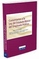 COMENTARIOS A LA LEY DEL ESTATUTO BASICO DEL EMPLEADO PUBLICO