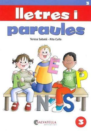 LLETRES I PARAULES 3 - CAL.LIGRAFIA