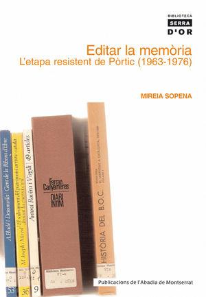 EDITAR LA MEMÒRIA