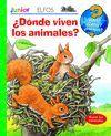 DÓNDE VIVEN LOS ANIMALES?
