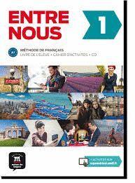 ENTRE NOUS 1 - LIVRE DE L'ÉLÈVE + CAHIER + CD (PACK)