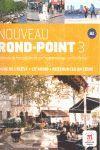 NOUVEAU ROND-POINT 3 LIVRE DE L' ELEVE + CD