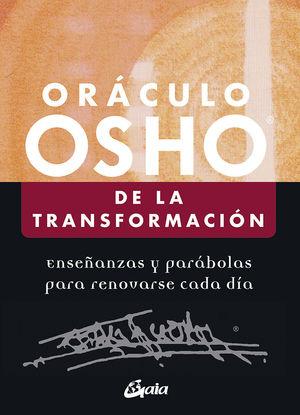 ORÁCULO OSHO DE LA TRANSFORMACIÓN (+ CARTES)