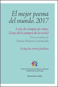 MEJOR POEMA DEL MUNDO, 2017, EL -LISTA DA COMPRA DA VIÚVA-(LISTA DE LA COMPRA DE LA VIUDA)