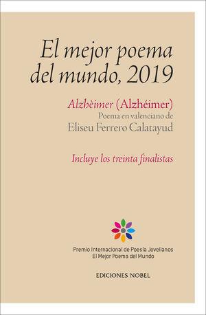 MEJOR POEMA DEL MUNDO, 2019, EL