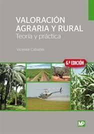 VALORACION AGRARIA Y RURAL (6 EDICION 2019)