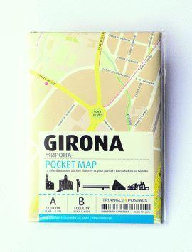 MAPA DE GIRONA - POCKET MAP