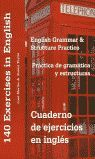 PRACTICA DE GRAMATICA Y ESTRUCTURAS (CUADERNO DE EJERCICIOS EN INGLES)