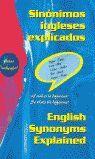 SINONIMOS INGLESES EXPLICADOS ENGLISH SYNONYMS EXPLAINED