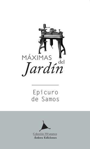 MÁXIMAS DEL JARDÍN