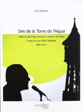 DES DE LA TORRE DE L'AIGUA