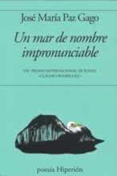 MAR DE NOMBRE IMPRONUNCIABLE
