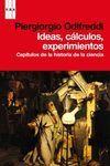 IDEAS, CÁLCULOS, EXPERIMENTOS