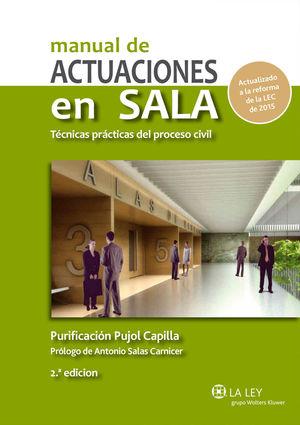 MANUAL DE ACTUACIONES EN SALA (2 EDICIÓN)