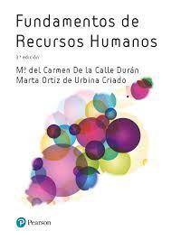 FUNDAMENTOS DE RECURSOS HUMANOS (3ª EDICION 2018)