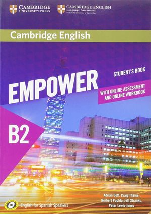 CAMBRIDGE ENGLISH EMPOWER B2. STUDENT +ONLINE ASSESMENT AND PRACTICE+ONLINE WORK