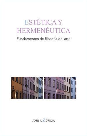ESTETICA Y HERMENEUTICA. FUNDAMENTOS DE FILOSOFIA DEL ARTE