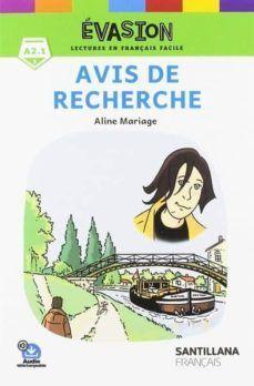 AVIS DE RECHERCHE (NIVEAU A2.1)