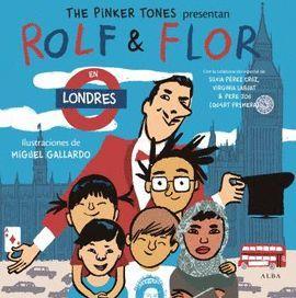 ROLF & FLOR EN LONDRES  (+ CD) CASTELLANO