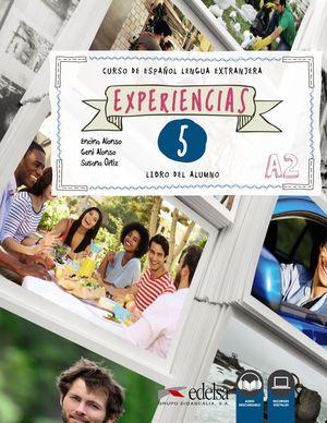 EXPERIENCIAS 5 - LIBRO DEL ALUMNO - A2