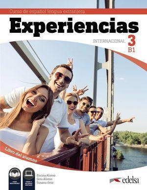 EXPERIENCIAS INTERNACIONAL 3 B1 - LIBRO DEL ALUMNO
