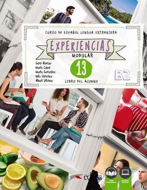 EXPERIENCIAS 13 (B2). LIBRO DEL ALUMNO