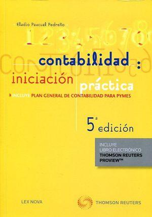 CONTABILIDAD: INICIACIÓN PRÁCTICA (PAPEL + E-BOOK)